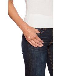 Elizabeth and James - Metallic Marisol Hand Bracelet - Lyst