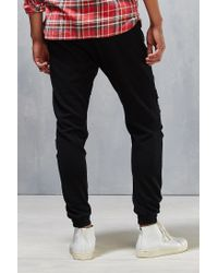 Timberland - Black Lowell Sweat Distressed Jogger Pant for Men - Lyst