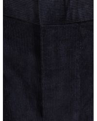 E. Tautz | Blue Corduroy Trousers for Men | Lyst