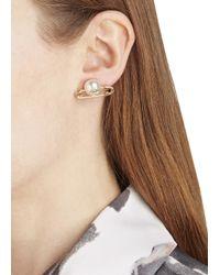 Vivienne Westwood - Metallic Jordan Gold Plated Safety Pin Earrings - Lyst