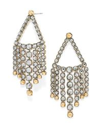 BaubleBar | Black 'diana' Chandelier Earrings | Lyst