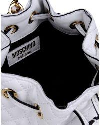 Moschino | White Rucksack | Lyst