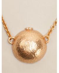 Gerard Yosca - Metallic Half Sphere Necklace - Lyst