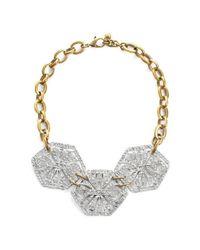 Lulu Frost | Metallic Atrium Statement Necklace | Lyst