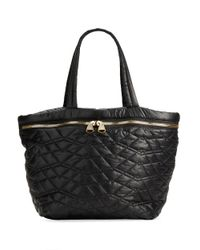 Dolce Vita - Black Quilted Tote Bag - Lyst