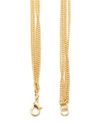 Forever 21 | Metallic Beaded Multi-chain Necklace | Lyst