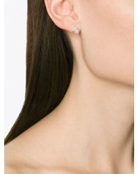Melissa Joy Manning | Metallic Rough Cut Diamond Earrings | Lyst