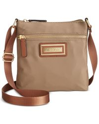 Calvin Klein | Brown Nylon Crossbody | Lyst