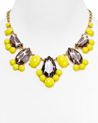 kate spade new york - Yellow Day Tripper Necklace 18 - Lyst