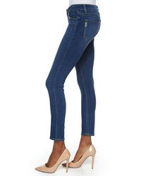 PAIGE - Blue Verdugo Skinny Ankle Jeans - Lyst