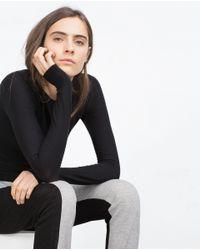 Zara | Gray Jogging Trousers | Lyst