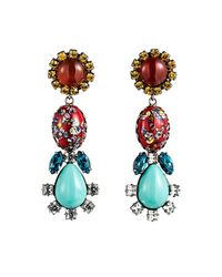 DANNIJO - Multicolor Eddie Earrings - Lyst