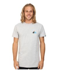 Quiksilver | Gray Grady Screen Tee for Men | Lyst