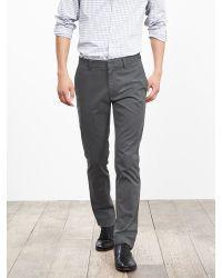 Banana Republic | Gray Fulton Skinny Cotton Chino for Men | Lyst