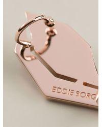 Eddie Borgo - Pink Bicone Tube Ear Cuffs - Lyst