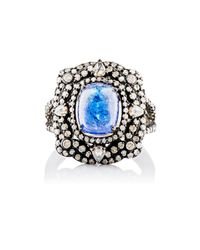 Carole Shashona - Black Cosmic Fantasy Ring - Lyst