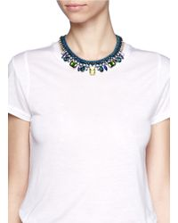 Venessa Arizaga | 'into The Blue' Necklace | Lyst