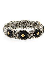 Konstantino | Iris Black Onyx Link Bracelet | Lyst