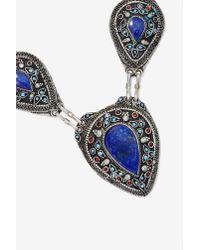 Nasty Gal - Blue Vanessa Mooney Izusa Lapis Necklace - Lyst