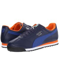 PUMA - Blue Roma Basic for Men - Lyst