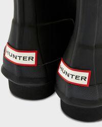 Hunter | Black Women's Original Lace-up Boots | Lyst