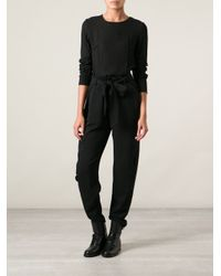 Ann Demeulemeester Blanche - Black 'Sensual' T-Shirt - Lyst