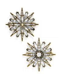 BaubleBar | Metallic North Star Brooch Set | Lyst