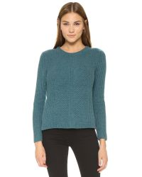 Madewell - Multicolor Sophia Ribbed Sweater - Lyst