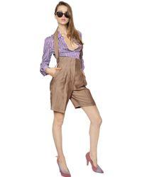 Vivienne Westwood - Purple Striped Cotton Poplin Shirt - Lyst