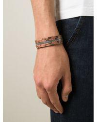 Aech Cheli | Brown 'zip' Bracelet | Lyst