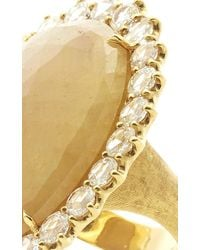 Marco Bicego - Metallic One-Of-A-Kind Sapphire And Rose Cut Diamond Ring - Lyst