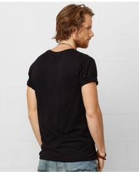 Denim & Supply Ralph Lauren - Black Flag Crewneck Tee for Men - Lyst
