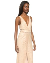 Parker | Natural Black Monarch Silk Gown - Grey | Lyst