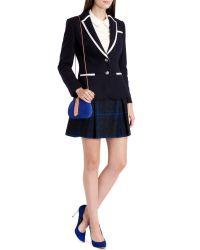 Ted Baker - Blue Dariah Prep Style Blazer - Lyst