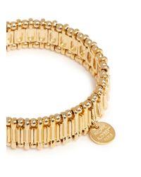 Philippe Audibert - Metallic Metal Bead Elastic Bracelet - Lyst
