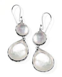 Ippolita | Metallic Mother-of-pearl Wonderland Teardrop Earrings | Lyst