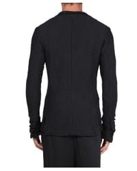 Thom Krom - Black Cotton Blazer Jacket for Men - Lyst