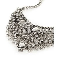 Forever 21 - Metallic Layered Statement Necklace - Lyst