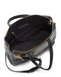 Marc By Marc Jacobs - Black Sheltered Island Multi-Texture Satchel - Lyst