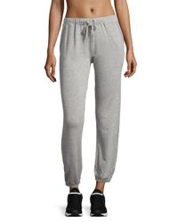 Alo Yoga | Gray Dune Drawstring Lounge Pants | Lyst