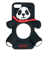 Moschino | Black Panda Iphone 4 Case | Lyst