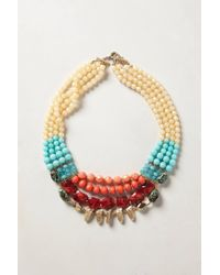 Anthropologie | Multicolor Cassie Layer Necklace | Lyst