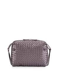 Bottega Veneta - Purple Pillow Cross-Body Bag - Lyst