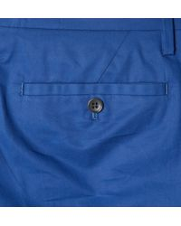 Marc By Marc Jacobs | Blue Tapered Cotton-Twill Suit Trousers for Men | Lyst