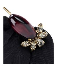 Marni | Black Embellished Earrings | Lyst