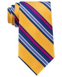 Peter Thomas | Metallic Exploded Texture Stripe Tie for Men | Lyst