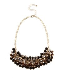 Coast - Multicolor Ombre Cluster Necklace - Lyst