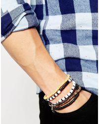 Classics 77   Brown Woodstick Bracelet Pack for Men   Lyst