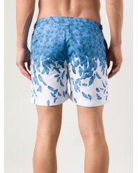 Orlebar Brown | Blue Bulldog Falling Feather Swim Shorts for Men | Lyst