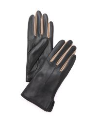 Rag & Bone - Black Stella Gloves - Navy - Lyst